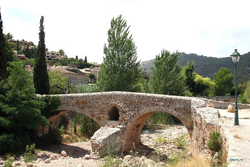 Майорка. Римский мост 120 г.д.н.э..