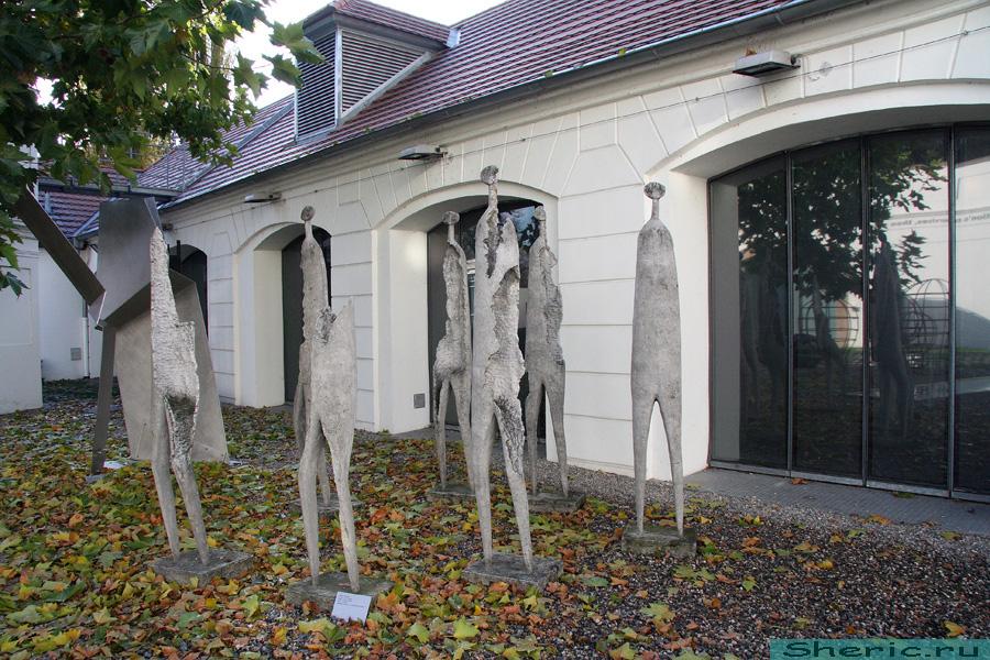 Прага. Музей Кампа