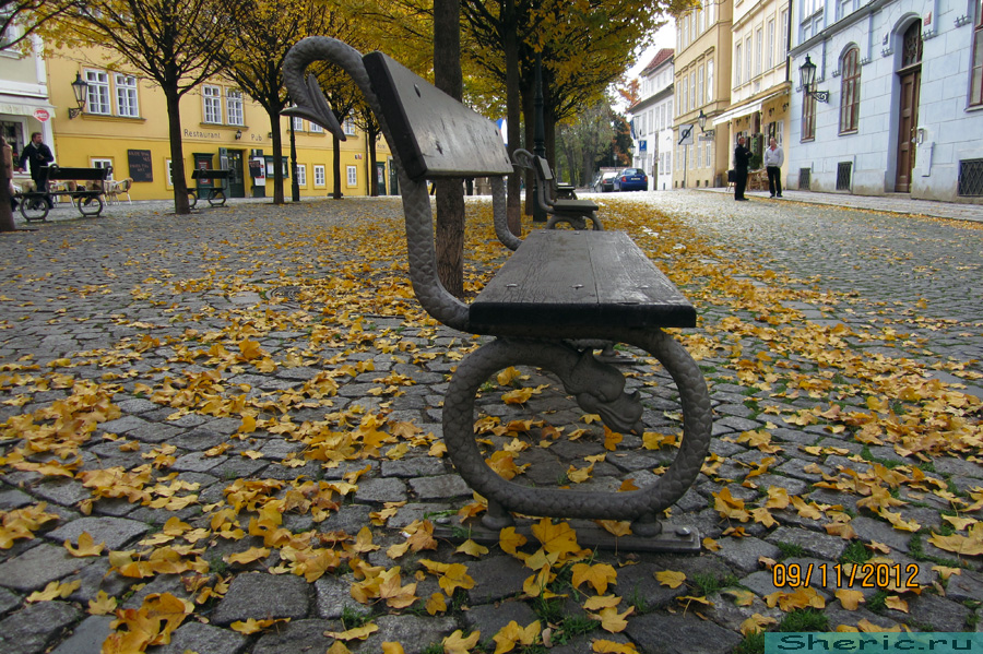 Прага. Остров Кампа