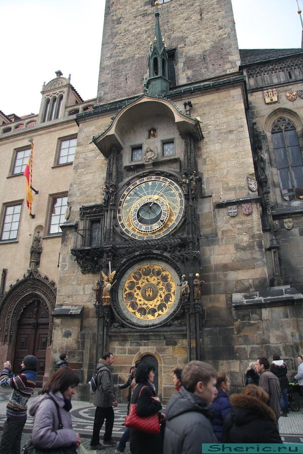 Прага. астрономические часы