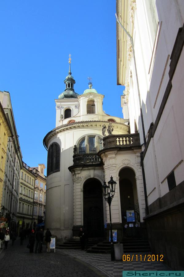 Прага. Где-то в городе