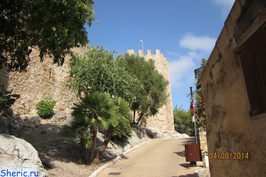 Испания. Майорка. Castillo de Capdepera.