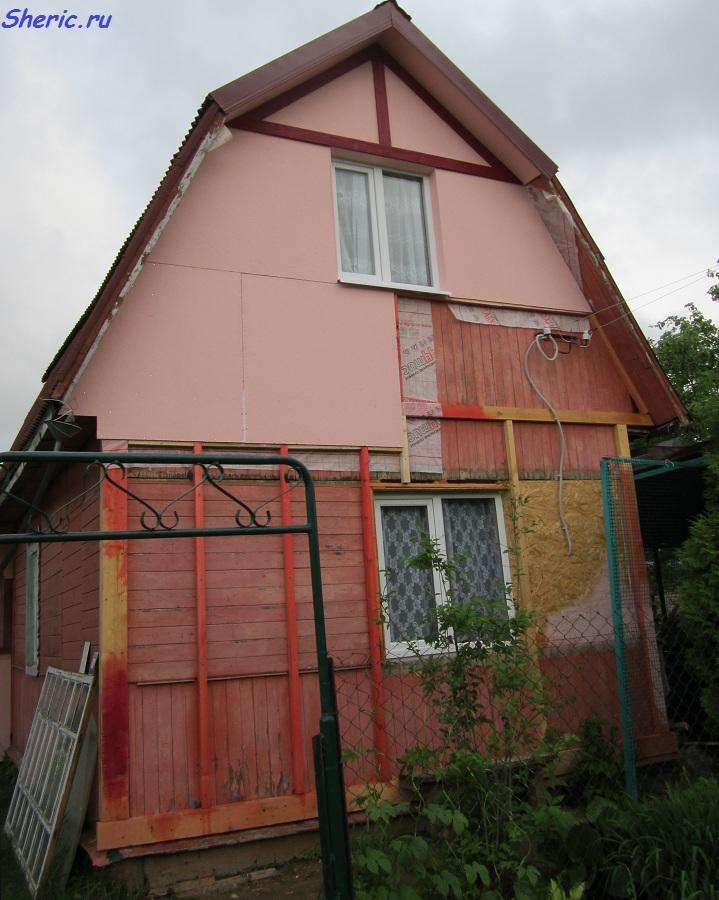 утепление и украшение фасада