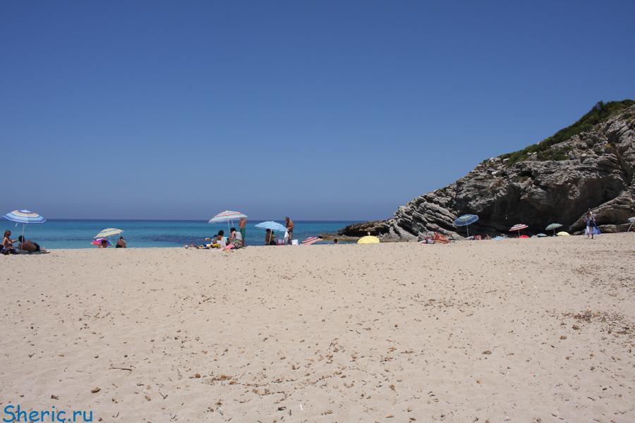 Испания. Майорка. Пляж Cala Torta.