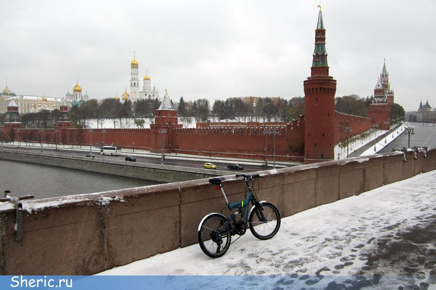 Велопрогулка до Московского Кремля.