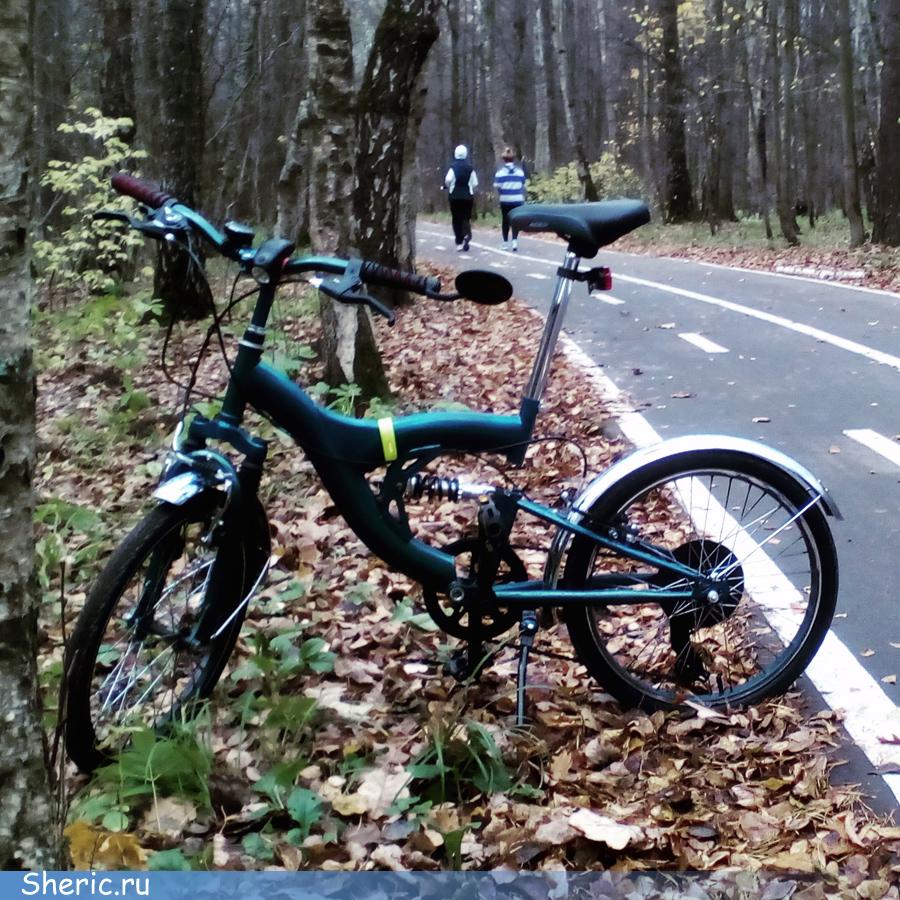 Велопрогулка по Битцевскому парку.