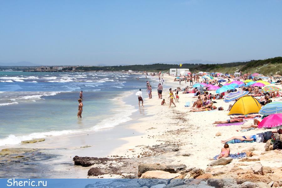 Испания. Майорка. Пляж Trenc.