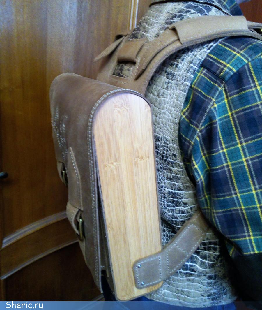 Пошив кожаного рюкзака
